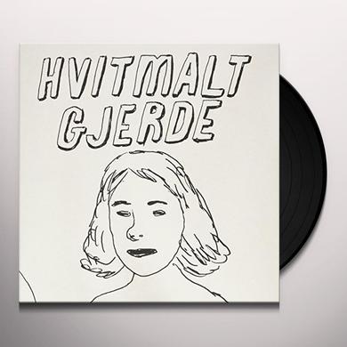 Gjerde Hvitmalt SVIMMEL EP Vinyl Record