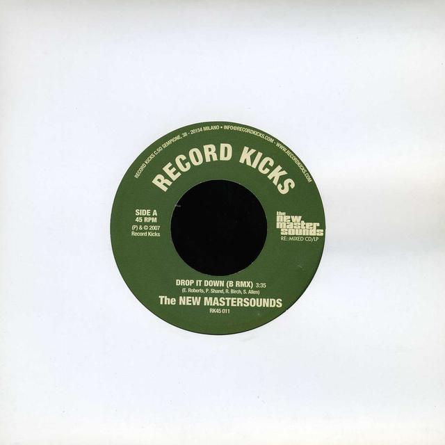 New Mastersounds/Steven Perri & Zamaun DROP IT DOWN (B REMIX)/STREET SCENE Vinyl Record