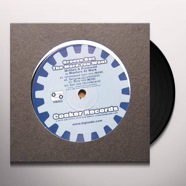 Groove Box MORE YOU WANT Vinyl Record - UK Release