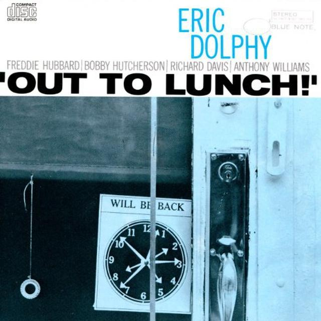 Eric Dolphy OUT TO LUNCH Vinyl Record - Holland Import