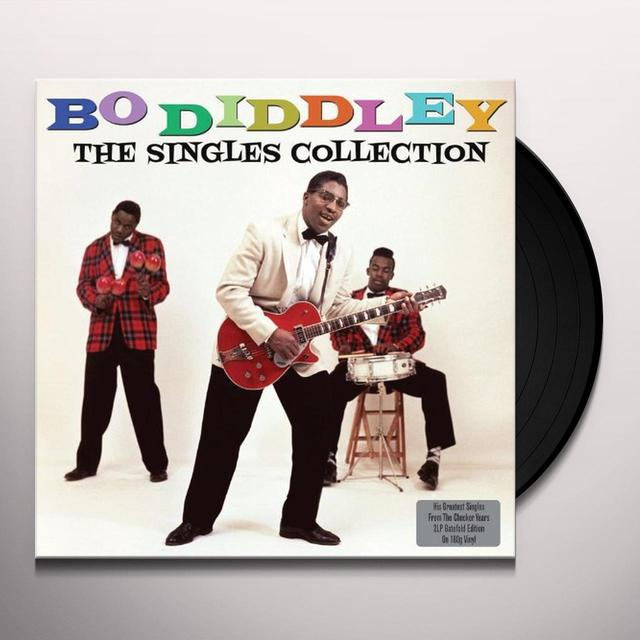 Bo Diddley SINGLES COLLECTION Vinyl Record
