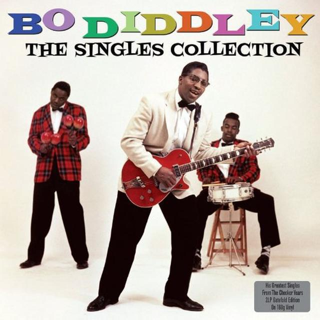 Bo Diddley SINGLES COLLECTION Vinyl Record - UK Import
