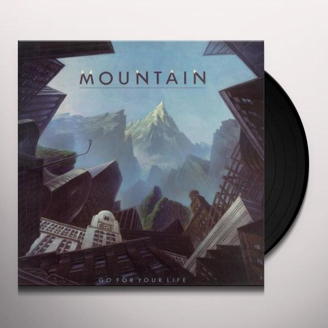 Mountain GO FOR YOUR LIFE Vinyl Record - UK Release