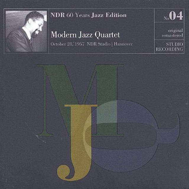 The Modern Jazz Quartet VOL. 4-NDR 60 YEARS JAZZ EDITION STUDIO RECORDING Vinyl Record
