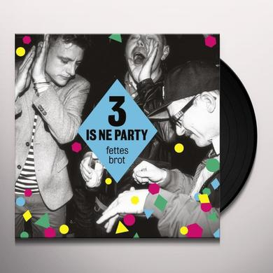 Fettes Brot 3 IS NE PARTY (GER) Vinyl Record