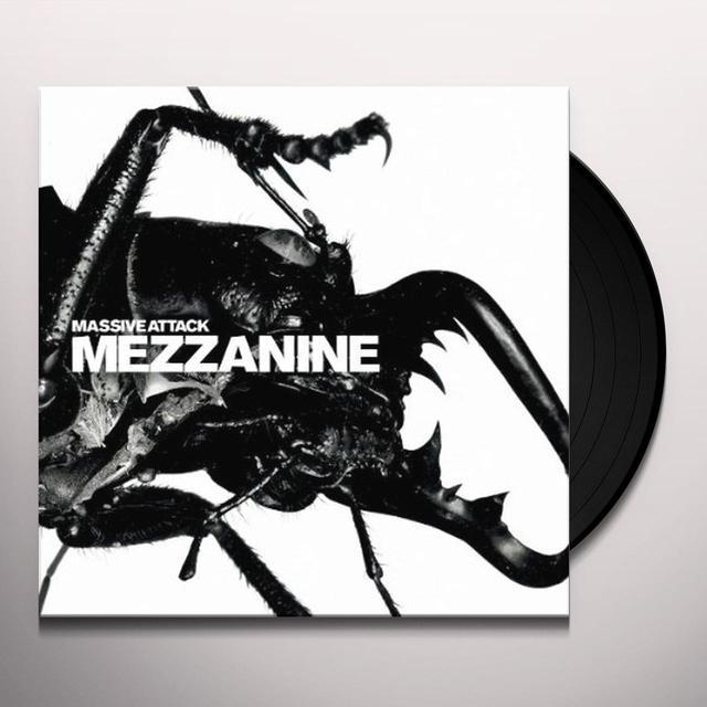 Massive Attack MEZZANINE Vinyl Record - Holland Import