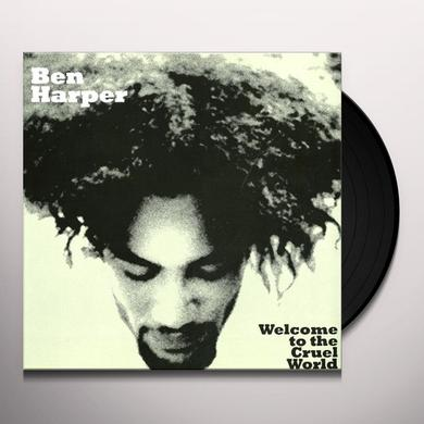 Ben Harper WELCOME TO THE CRUEL WORLD Vinyl Record - Holland Release