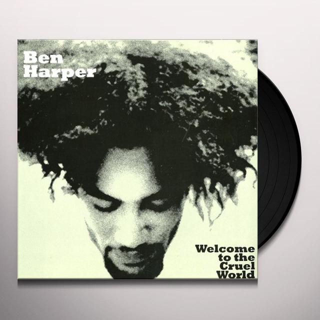 Ben Harper WELCOME TO THE CRUEL WORLD Vinyl Record - Holland Import