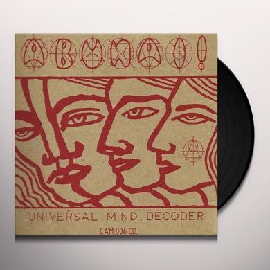 Abunai! UNIVERSAL MIND DECODER Vinyl Record - Holland Import