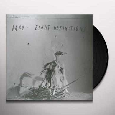 Daau EIGHT DEFINITIONS Vinyl Record - Holland Import