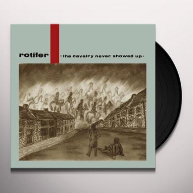 Rotifer CAVALRY NEVER SHOWED UP Vinyl Record - Holland Import