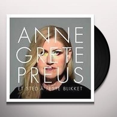 Anne Grete Preus ET STED A FESTE BLIKKET Vinyl Record - Holland Import