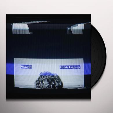 96Wrld PRIVATE LANGUAGE Vinyl Record - UK Import