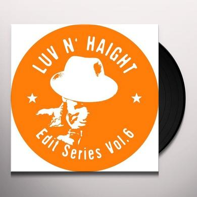 VOL. 6-LUV N'HAIGHT EDIT SERIES: TURNER BROS FEAT: (Vinyl)