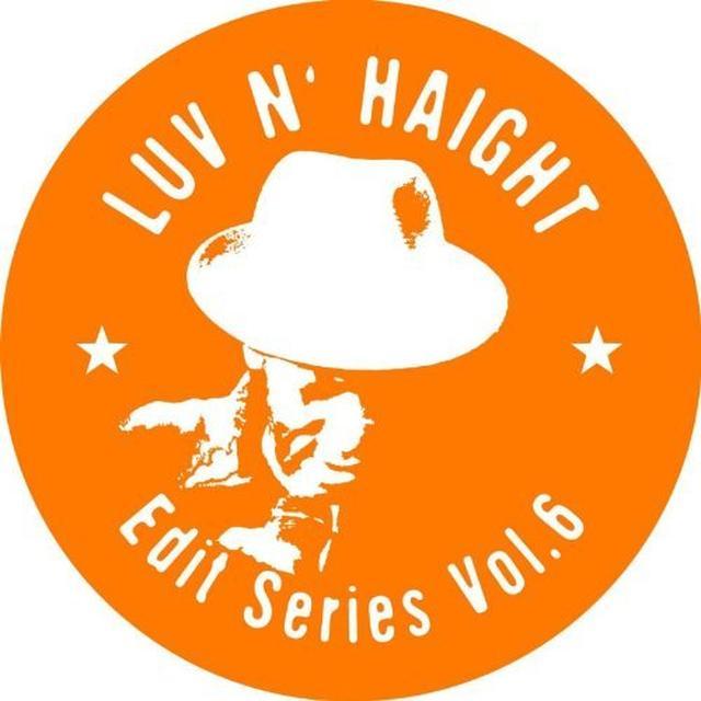 VOL. 6-LUV N'HAIGHT EDIT SERIES: TURNER BROS FEAT: (Vinyl)