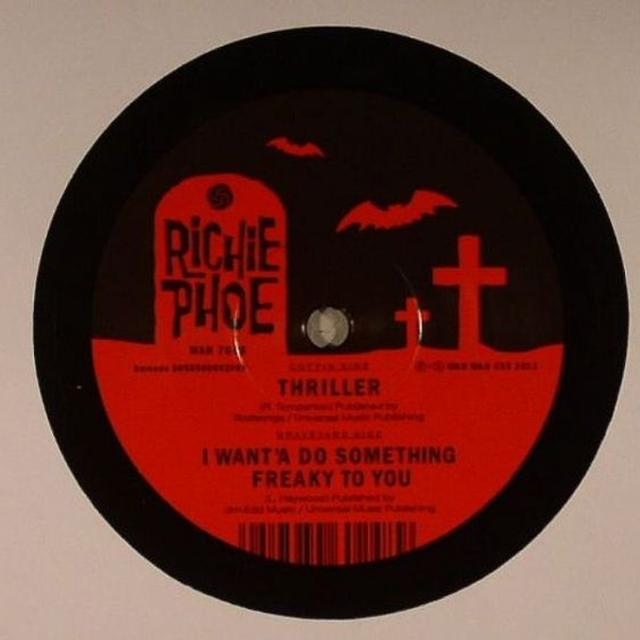 Richie Phoe THRILLER Vinyl Record - UK Release