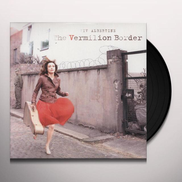 Viv Albertine VERMILLION BORDER Vinyl Record