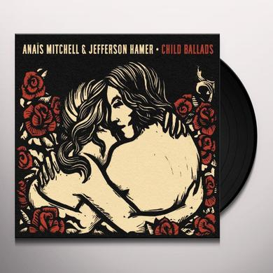 Anais Mitchell & Jefferson Hamer CHILD BALLADS Vinyl Record - UK Import