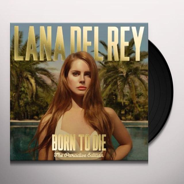 Lana Del Rey BORN TO DIE: THE PARADISE EDITION Vinyl Record - Holland Import