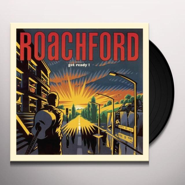 Roachford GET READY Vinyl Record - UK Release
