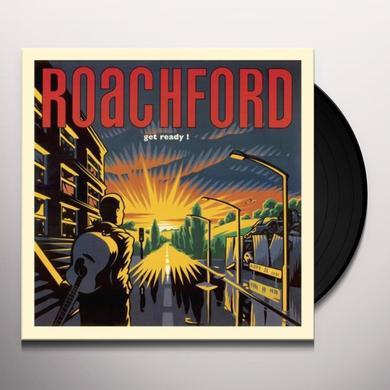 Roachford GET READY Vinyl Record - UK Import