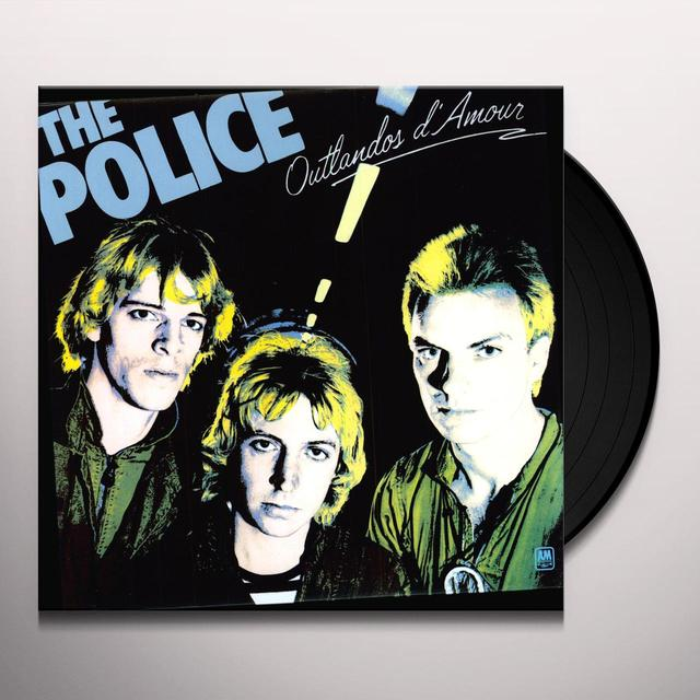 Police OUTLANDOS D'AMOUR Vinyl Record - UK Import