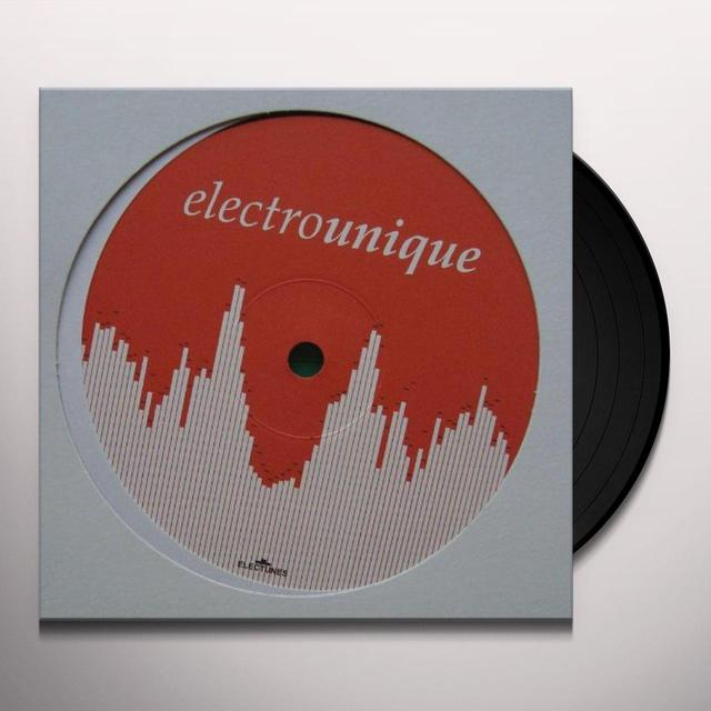 Electrounique 1 / Various (Uk) ELECTROUNIQUE 1 / VARIOUS Vinyl Record - UK Release