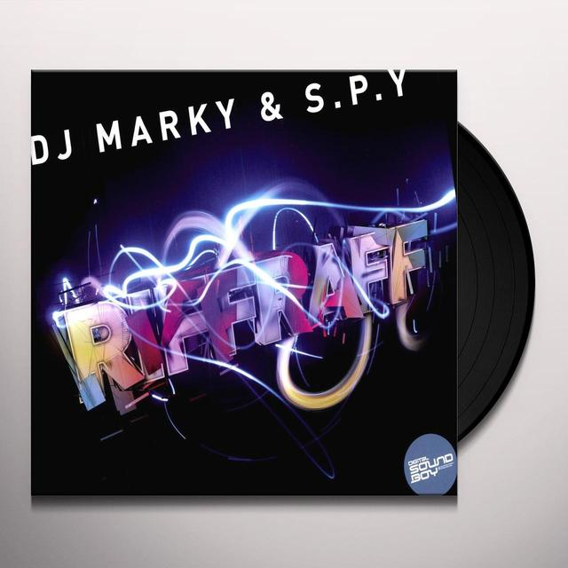 Dj Marky & S.P.Y. RIFF RAFF/TIME MOVES ON Vinyl Record - UK Import