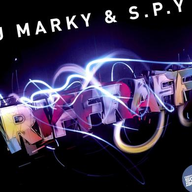 Dj Marky & S.P.Y. RIFF RAFF/TIME MOVES ON Vinyl Record - UK Release