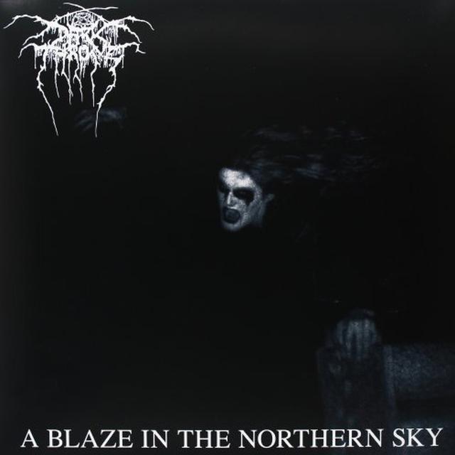 Darkthrone BLAZE IN A NORTHERN SKY Vinyl Record - UK Import