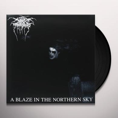 Darkthrone BLAZE IN A NORTHERN SKY Vinyl Record - UK Import