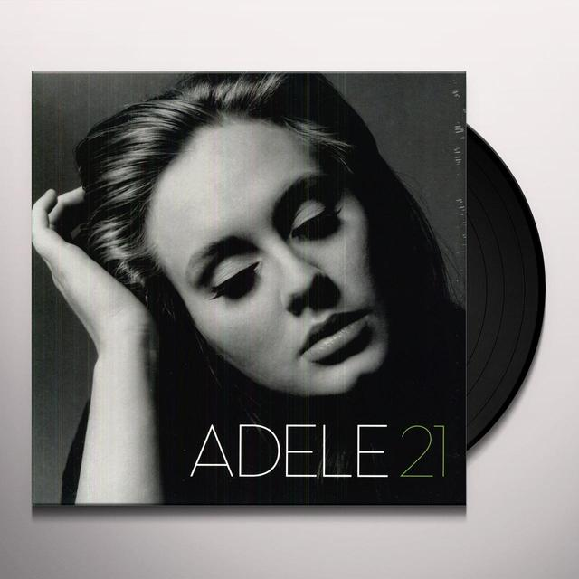Adele 21 Vinyl Record - UK Import