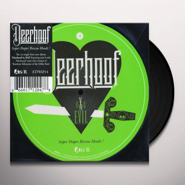 Deerhoof SUPER DUPER RESCUE HEADS Vinyl Record - UK Import