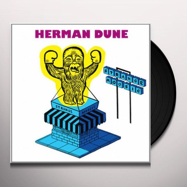 Herman Dune STRANGE MOOSIC Vinyl Record - UK Release