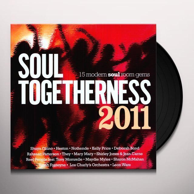 SOUL TOGETHERNESS 2011 / VARIOUS (UK) SOUL TOGETHERNESS 2011 / VARIOUS Vinyl Record - UK Release