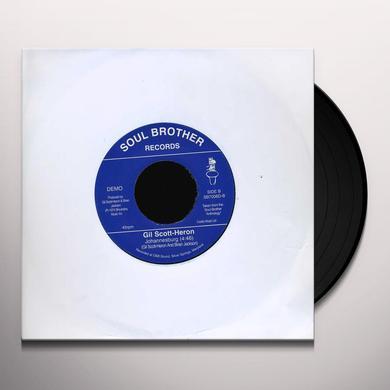 Gil Scott-Heron BOTTLE/JOHANNESBURG Vinyl Record - UK Import