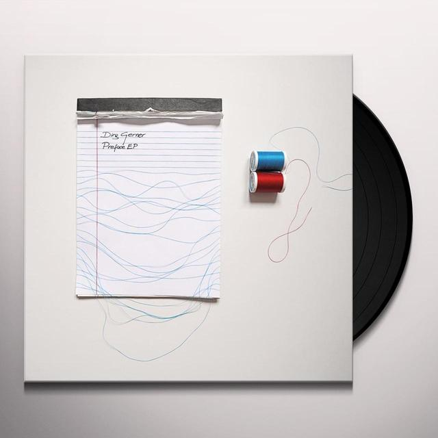 Dirg Gerner PREFACE EP Vinyl Record - UK Import