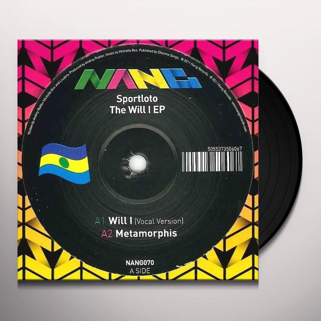 Sportloto WILL I EP Vinyl Record - UK Release