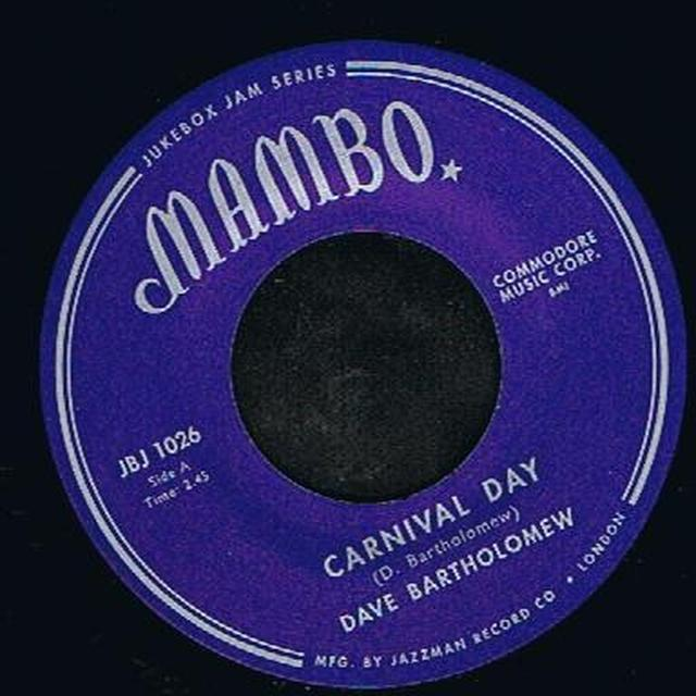 Dave Bartholomew CARNIVAL DAY/CAT MUSIC Vinyl Record - UK Release