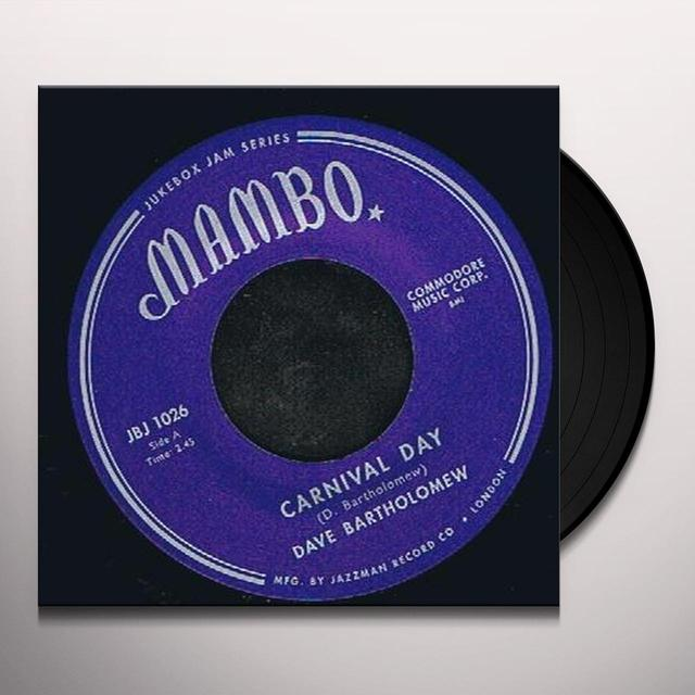 Dave Bartholomew CARNIVAL DAY/CAT MUSIC Vinyl Record - UK Import