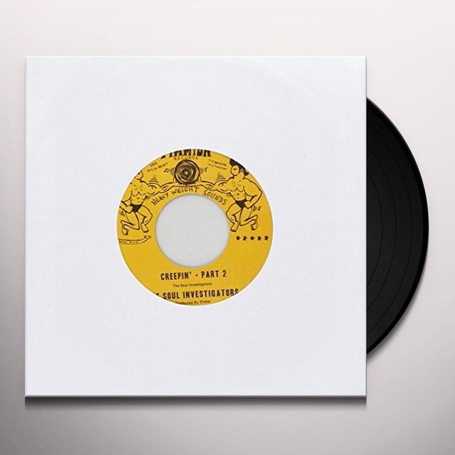 The Soul Investigators CREEPIN' Vinyl Record - UK Import