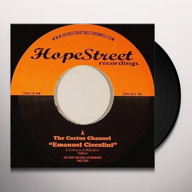 The Cactus Channel EMANUEL CICCOLINI Vinyl Record - UK Import