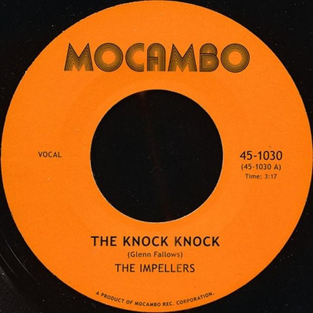 The Impellers KNOCK KNOCK/I PREDICT A RIOT Vinyl Record - UK Import