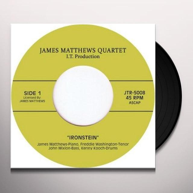 James Matthews Quartet IRONSTEIN/IN IT Vinyl Record - UK Release