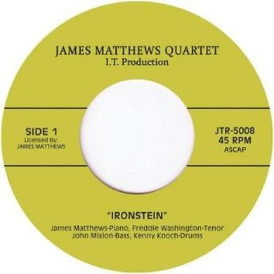 James Matthews Quartet IRONSTEIN/IN IT Vinyl Record - UK Release