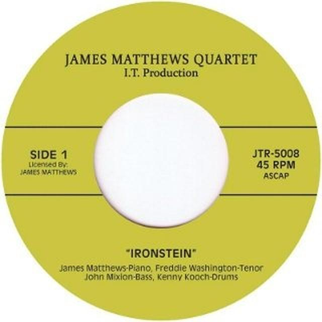 James Matthews Quartet IRONSTEIN/IN IT Vinyl Record - UK Import