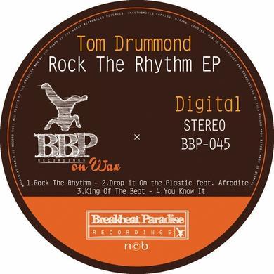 Tom Drummond ROCK THE RHYTHM Vinyl Record - UK Release