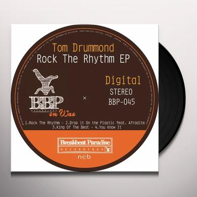 Tom Drummond ROCK THE RHYTHM Vinyl Record - UK Release