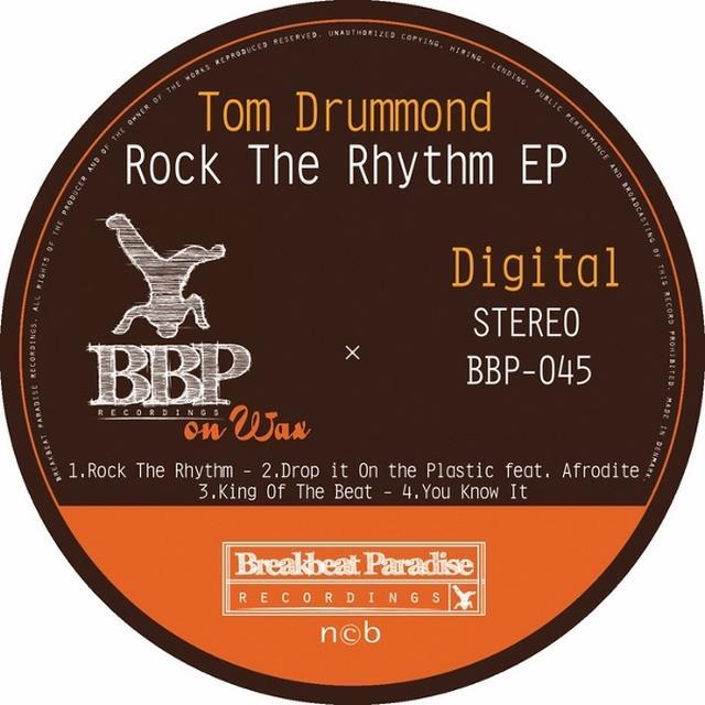 Tom Drummond ROCK THE RHYTHM Vinyl Record - UK Import