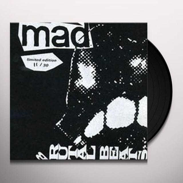 Mad Smooth BRUTAL BEATS Vinyl Record - UK Release
